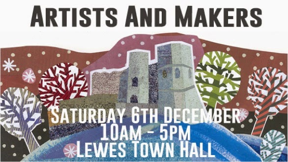 I will be selling my prints at the Lewes Artist and Makers Fair.