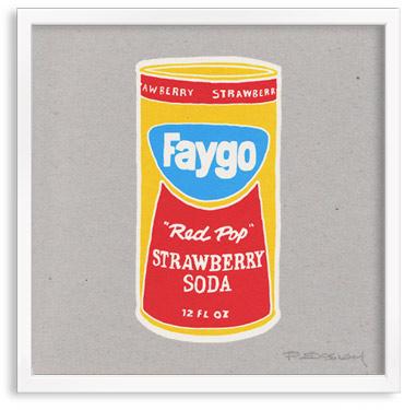 Faygo Soda Cans