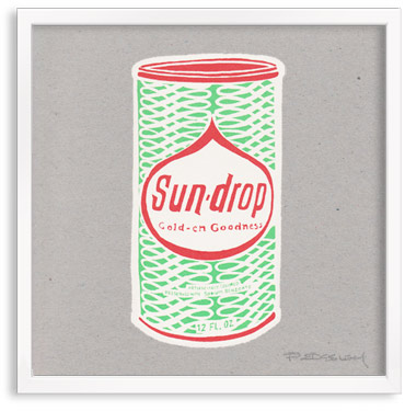 Sun Drop Soda Can
