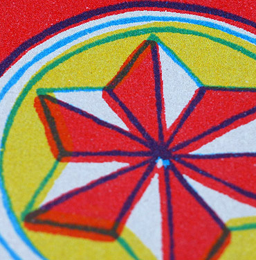 Star Matchbox- Hand Printed Greeting Card - Patrick Edgeley