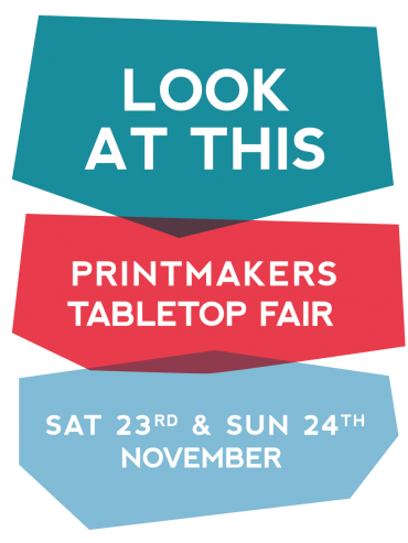 Printmakers Tabletop Fair