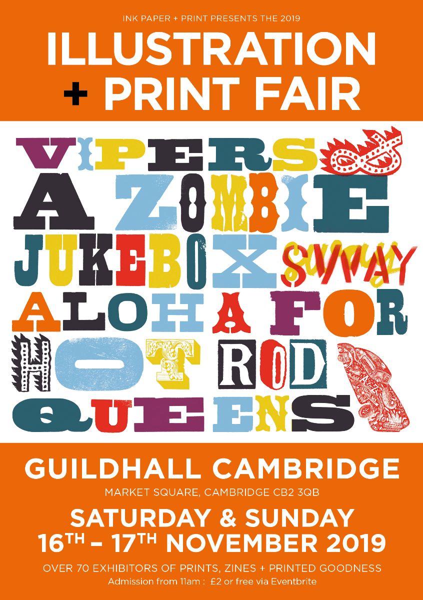 Guildhall Cambridge print fair