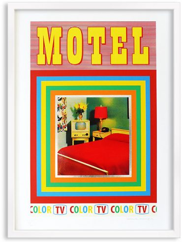 Motel – Screen print