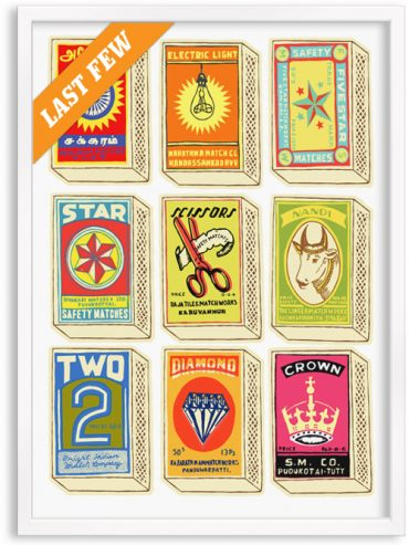 Retro Matchboxes