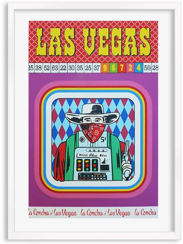 Las Vegas – Screen print